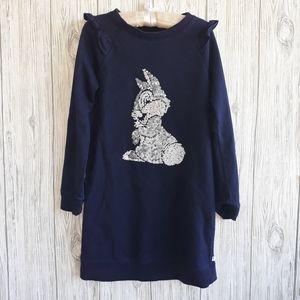 Gap Kids Disney Thumper Sweater Dress Size M 8-9